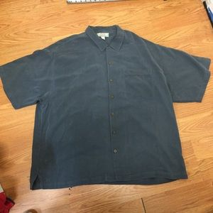 Men's Tommy Bahamas shirt size xxl 100% silk